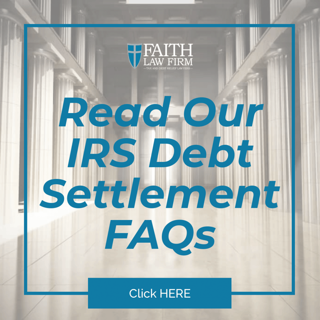 Milwaukee Tax Debt Relief - Read our IRS Debt Settlement FAQ's